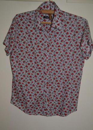 Рубашка до короткого рукава