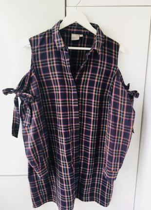 Рубашка-туника аsos