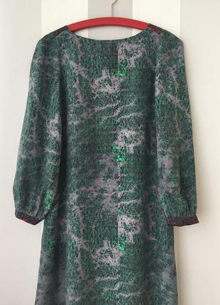 Шелковое платье see by chloe оригинал