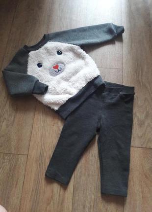 Костюм джинсы и свитер