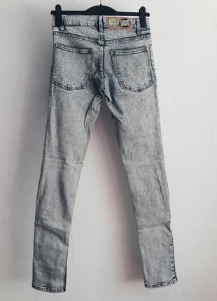 Джинсы штаны брюки джеггинсы в обтяжку скини cheap monday