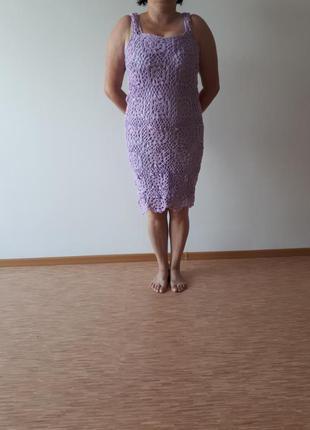Платье ручная работа