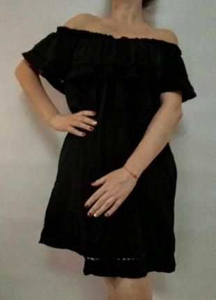 Красивое платье с воланами от f&f