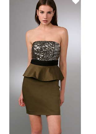Оригинал! вечернее платье  дорогого бренда alice + olivia