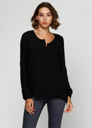 Новая базовая чёрная блуза блузка esmara