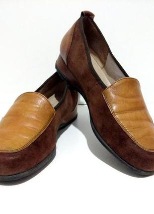 Кожаные туфли hassia