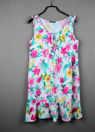 Красивое летнее цветочное платье от george