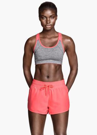 Спортивные шорты h&m для бега спорт