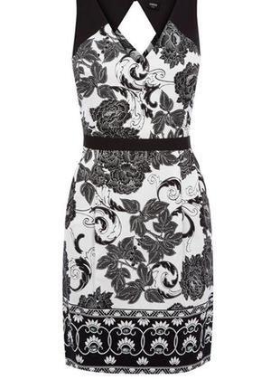 Красивое натуральное платье с интересной спинкой
