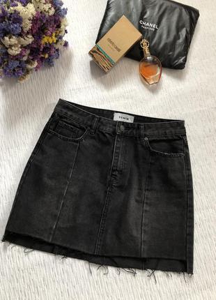 Джинсовая юбка new look 12- размер