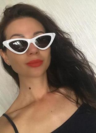 Очки крутые супер модные кошечки ! тренд 2018!!!