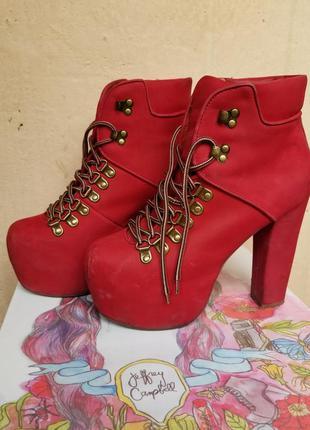 Легендарные ботинки jeffrey campbell