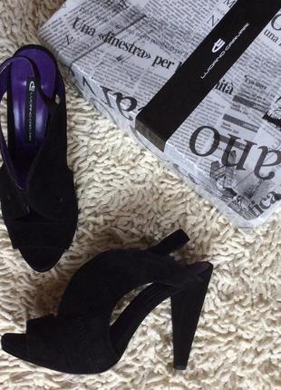 Туфли открытые luciano carvari р 38