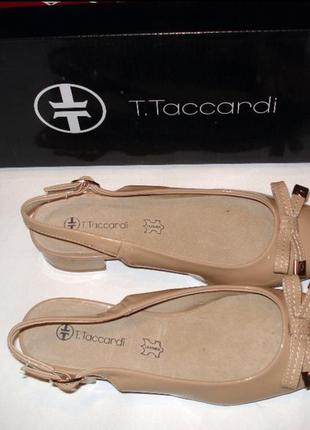 Нежные бежевые балетки туфли босоножки taccardi