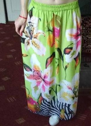 Новая летняя юбка в пол