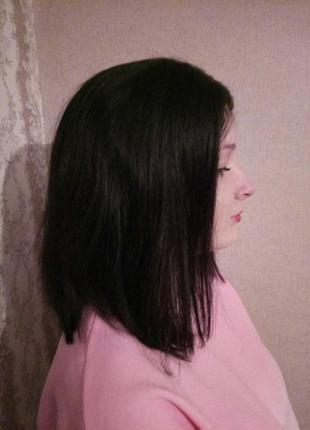 Люкс парик новый из натуральных волос 150% плотность