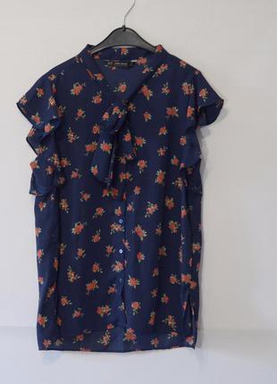 Блуза zara короткий рукав (новая)