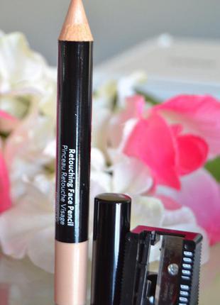 Многофункциональный хайлайтер-карандаш-консилер bobbi brown с точилкой в комплекте
