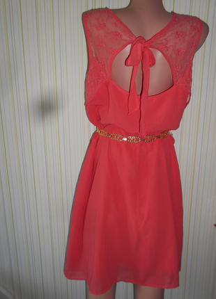 #шикарное шифоновое платье #la redoute# индия#большой размер 18\20 #