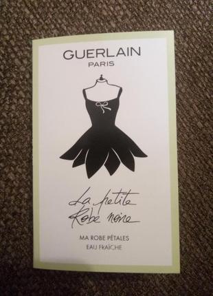 Guerlain la petite robe noire eau fraiche пробник