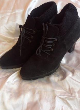 Ботинки, замш, 38 размер