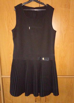 Школьная форма для девочки р. 140, два элемента, тм промінь, цвет черный3