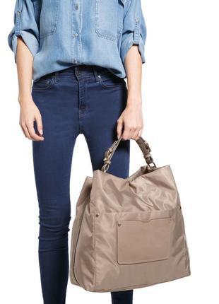 Вместительная сумка шоппер, для мамы, мешок