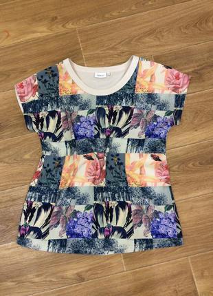 Футболка блуза next в цветах