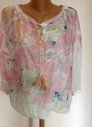 Бутиковая итальянская блуза. /m- l- xl/