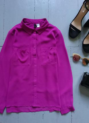 Актуальная шифоновая блуза рубашка №172