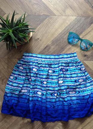 Летняя юбка, мини юбка