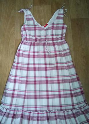 Лёгкое миди платье от s.oliver