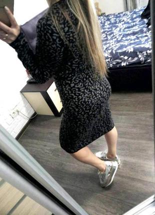 Красивое платье миди по фигуре