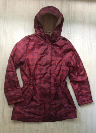 Утеплённая  куртка-дождевик