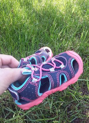 Босоножки сандалии, летняя обувь, 18-19р. 11,5см кроссовки туфли тапочки