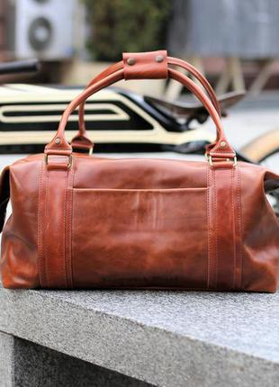Брендовая кожаная сумка sport&travel ds