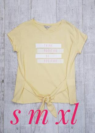 Женская трикотажная футболка c&a. размеры с, м, хл