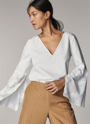 Оригинальная блуза massimo dutti