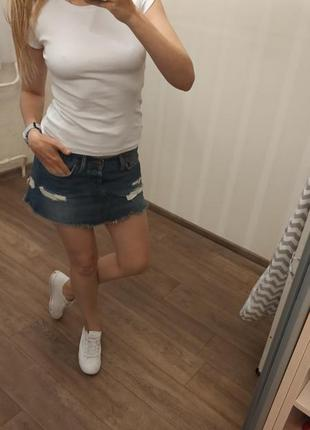 Белая футболка new yorker
