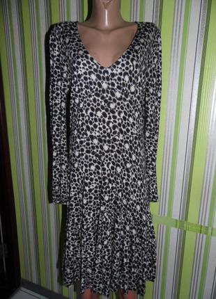 Платье вискоза - french connection uk 16 eu 44 -сток - англия!!!