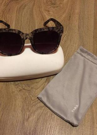 Zara очки, матовая оправа