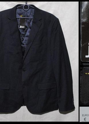 Брендовий піджак чоловічий iveo by jbc xl [бельгія] (пиджак мужской)