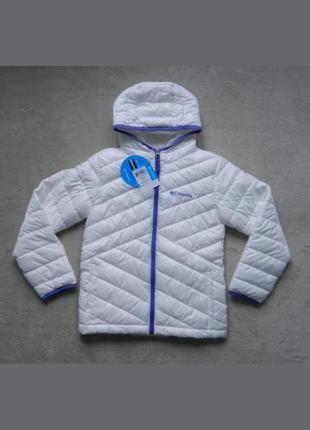 e48c7b71dc97 Подростковая куртка для девочки columbia snowpruff puffer jacket, оригинал,  размер м