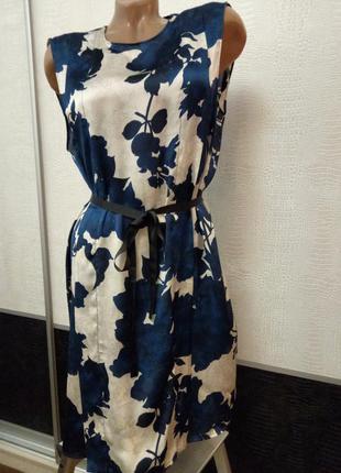 Супер платье цветы zara