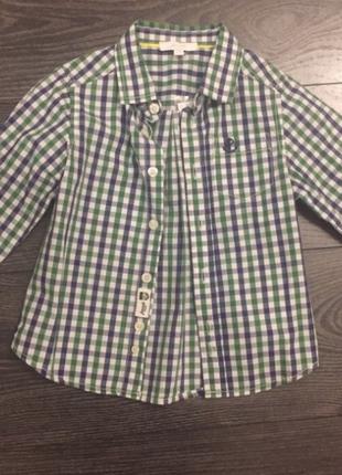 Рубашка в клетку, 2 года