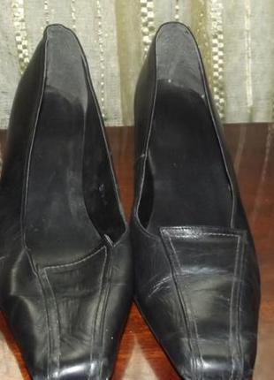 Туфли,кожа на широкую ступню