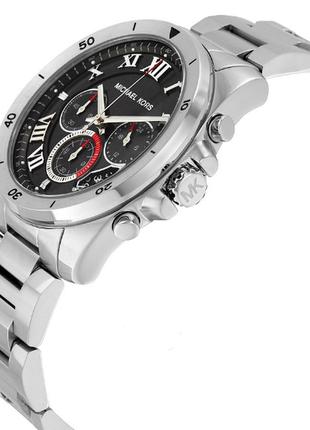 Часы  michael kors brecken chronograph mens mk8438