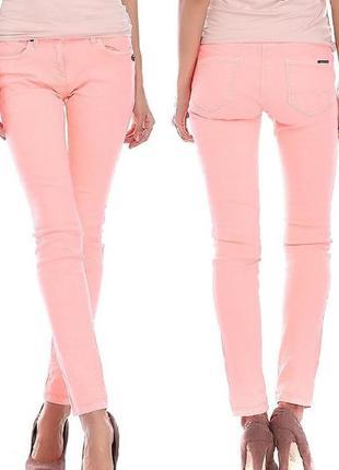 Распродажа!!! персиковые джинсы maison scotch