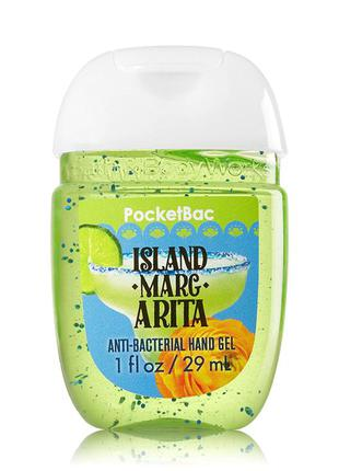 Антибактериальный гель для рук ,санитайзер bath and body works -island margarita
