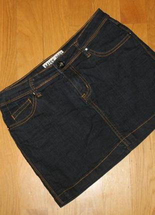 Юбка джинсовая , размер 38